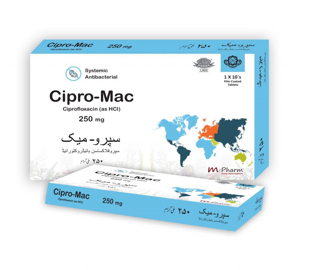 Cipro Mac 250 A